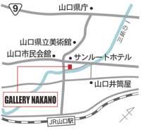 ギャラリーナカノ地図