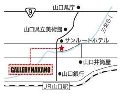 ギャラリーナカノ様地図